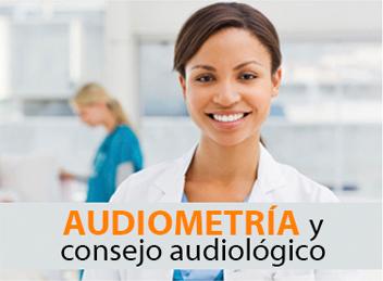 Audiometría y consejo audiológico