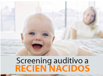 Screening auditivo para recién nacidos